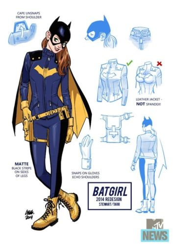 Batgirl - New Uniform