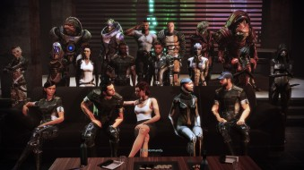 Mass Effect Citadel DLC Family Photo
