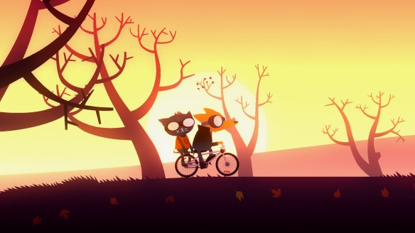 Night in the Woods bike