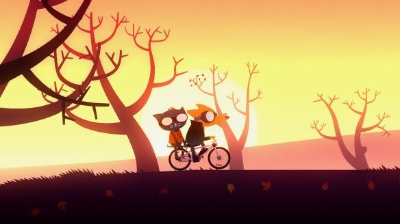 Night in the Woods bike