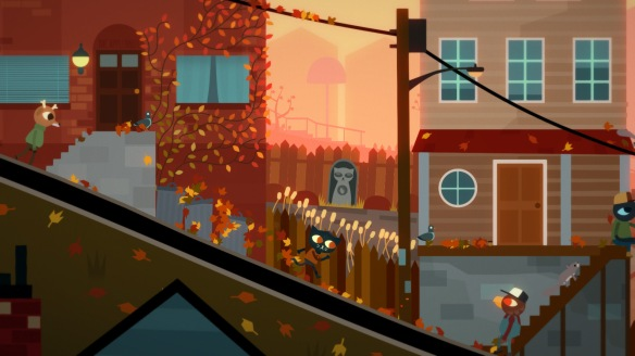 Night in the Woods street