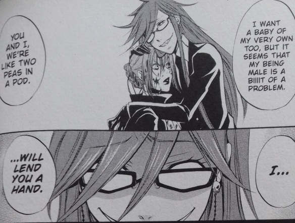 Black Butler Grelle and Madam Red