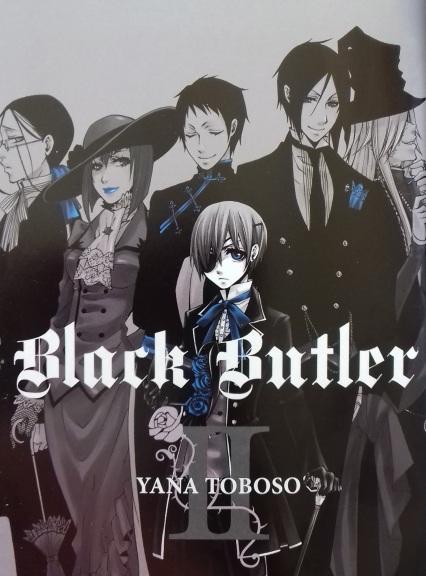 Black Butler vol 2 insider cover