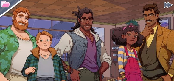 Dream Daddy Cute Fam