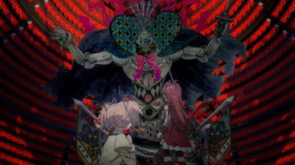 Madoka Magica witch world